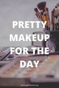 Pretty makeup for the day Casual Makeup, Elegant Makeup, Pretty Makeup, Makeup Tips, Eye Makeup, Like A Cat, Brown Skin, Beauty Hacks, Eyeshadow