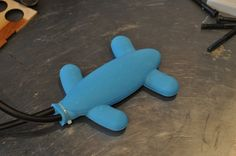 Soft Quadruped Robot 3d print your way to a walking quadruped with no hard moving parts