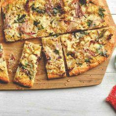 Koolhydraatarme pizzabodem met bloemkool   Makkelijk Afvallen