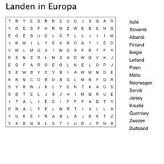 Woordzoeker landen in europa Kindergarten Activities, Classroom Activities, Centers First Grade, Europa Tour, First Grade Sight Words, Compound Words, Color By Numbers, Word Puzzles, Spring Theme