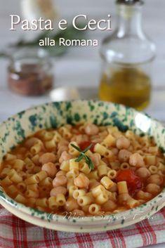 Pasta E Fagioli, Chickpea Recipes, Weird Food, Mediterranean Recipes, Couscous, Gnocchi, Chana Masala, Italian Recipes, Good Food