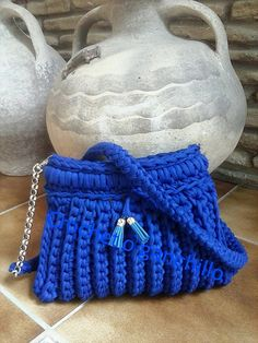 Bolso creado por Crochet o Ganchillo