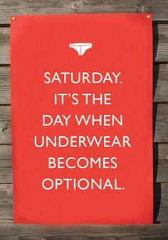Saturday.