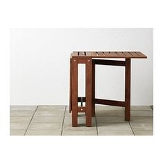 ÄPPLARÖ Gateleg table, brown $79.00	 Article Number:  502.085.35 Two folding drop-leaves allow you to adjust the table size according t...
