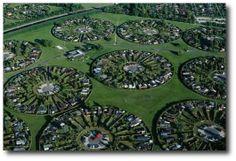 Suburbs of Copenhagen, Denmark by Yann Arthus-Bertrand