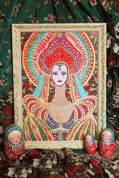 Русское барокко art print photography color