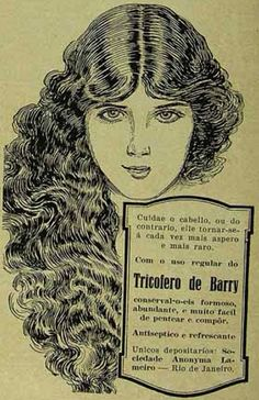 Iba Mendes: Anúncios antigos de produtos para os cabelos