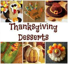 Thanksgiving Dessert Ideas