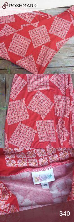 Lularoe Maxi red and beautiful LuLaRoe Skirts Maxi