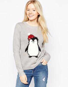 Jumper edit nichols christmas bear knit wool jumper 1 emma gallen