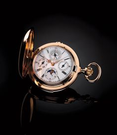 Pocket-watch, pure beauty.