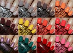 "OPI Brazil Collection - I'm loving the colors in this collection. They totally scream ""summer""!"
