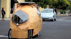 Electric Bike RV is Tiny House on Wheels : TreeHugger