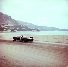 Bruce McLaren - Cooper Car Company - Cooper T55 - GP de Mónaco 1961 (Monte Carlo)