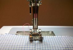 Feather's Flights {a creative, sewing blog}: How to Stich in the Ditch