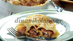 0960 Greek Recipes, Apple Pie, Food To Make, Tacos, Pasta, Beef, Cooking, Ethnic Recipes, Desserts