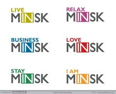 ® Minsk City Branding - M[IN]SK on Behance