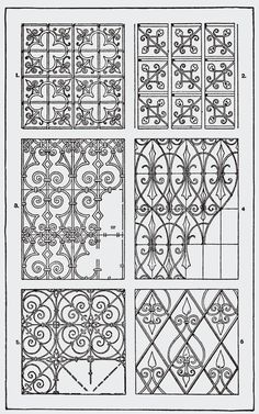 "cool Image from page 307 of ""Handbook of ornament; a grammar of art, industrial and architectural designing in all its branches, for practical as well as theoretical use"" Zentangle Patterns, Embroidery Patterns, Zentangles, Motif Design, Pattern Design, Manipulation, Copper Wire Jewelry, Art Decor, Decoration"