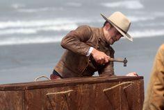ROBsessed™  - Addicted to Robert Pattinson: NEW: HQ Pics Of Robert Pattinson Killing Us All On The Set Of 'Damsel'