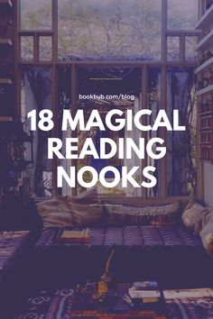 You can have a fairy tale in your own home with these magical reading nooks.  #books #readingnook #readingspace