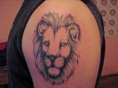 basic lion tattoos – Tattoo Tips Lion Tattoo Images, Lion Head Tattoos, Mens Lion Tattoo, Lion Tattoo Design, Side Tattoos, Tattoos For Guys, Tattoo Designs, Lion Drawing Simple, Simple Lion Tattoo