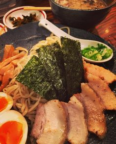 Amazing tsukemen  no wonder why there's always a line.  #tsukemen #ramen #shinjuku #Tokyo by nathandlee