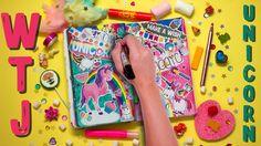 Единороги в моём WTJ☆Wreck This Journal | Уничтожь Меня Блокнот #4