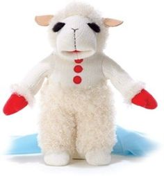 "12"" Aurora Plush Lamb Chop Talking Stuffed Animal Toy 10 Phrases Baby Gift #Aurora"
