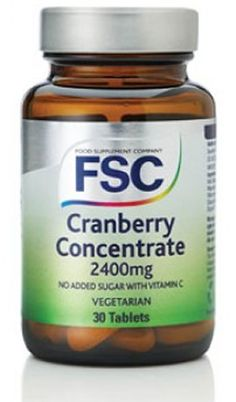 FSC Cranberry Concentrate 2400mg 30 Tablets FSC Cranberry Concentrate 2400mg 30 Tablets: Express Chemist offer fast delivery and friendly, reliable service. Buy FSC Cranberry Concentrate 2400mg 30 Tablets online from Express Chemist today! (Bar http://www.MightGet.com/january-2017-11/fsc-cranberry-concentrate-2400mg-30-tablets.asp
