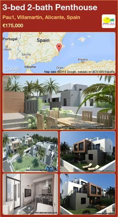 Penthouse for Sale in Villamartin, Alicante, Spain Apartments For Sale, Portugal, Penthouse For Sale, Alicante Spain, Murcia, Seville, New Builds, Property For Sale, Sevilla