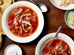 Get Mexican Chicken Soup Recipe from Food Network