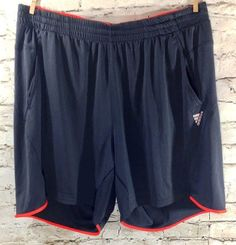 Adidas Clima 365 Poly Mesh Running Shorts Size XL Men's Athletic Dark Blue  #adidas #Shorts #Athletic #Running #Mens #ActiveWear #Gym #WorkOut