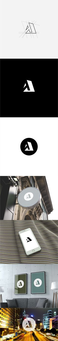 Architecture logo on Behance