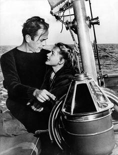 Humphrey Bogart and Lauren Bacall were Newport Beach sailors