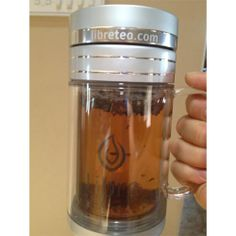 Libre Tea Glass Travel Mug for Loose Leaf Tea On-the-Go- 34% off - 3 days sale only