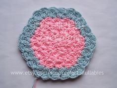 Ravelry: Jasmine Stitch No. 8- 6 petals with bobbles in the round pattern by Sara Palacios