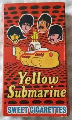 Yellow Submarine Sweet Cigarettes