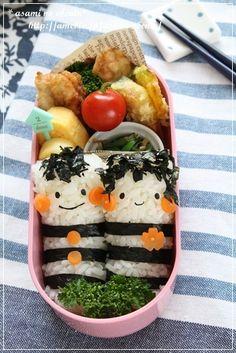 ■お人形キャラ弁|asamiオフィシャルブログ「asamiのおうち。簡単かわいいキャラ弁の作り方」Powered by Ameba-2ページ目