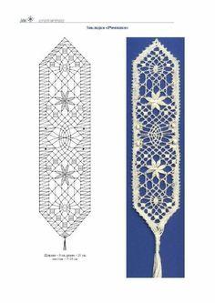 Resultado de imagen de marcapaginas de bolillos patrones