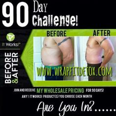 Yes men take our challenge too! Amazing results from Thermofit & 3 wraps! We love our It Works Men!! Www.wrapfitdetox.com