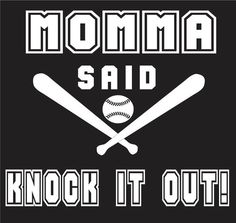 Momma said knock it out Unisex Tee by TammysTees on Etsy, $14.95