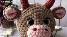 Crochet Cow, Crochet Animals, Crochet Hats, Vintage Sewing Patterns, Doll Patterns, Crochet Patterns, Amigurumi Doll Pattern, Diy Crafts Vintage, Bear Crafts