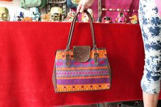all leather and tipico purse handmade