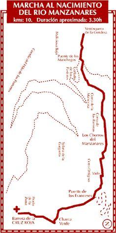 Marcha al nacimiento del rio manzanares