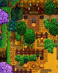 Share and discuss the farm designs you've created in Stardew Valley! Stardew Farms, Stardew Valley Farms, Star Citizen, Stardew Valley Layout, Stardew Valley Tips, Stardew Valley Fanart, Farm Layout, Farm Games, Harvest Moon