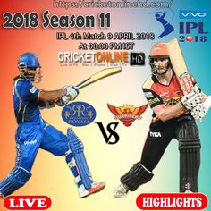 Live Cricket Streaming Hd, Hd Streaming, Ipl Live, Live Hd, Watches Online, Hyderabad, Premier League, Royals, Highlights