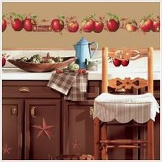 Apple Kitchen Decorations Rooster Decor