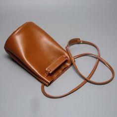62f0fec5b Stylish LEATHER WOMEN Bucket SHOULDER BAG Barrel Crossbody Purses FOR Small  Leather Bag, Leather Purses