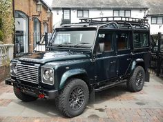 Cars For Sale - 2015 Land Rover Defender 110 Xs Station Wagon With Bowler Fast Road Conversion for sale on Motor Sport Magazine