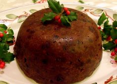 Irish Christmas Pudding (steamed in a CrockPot)